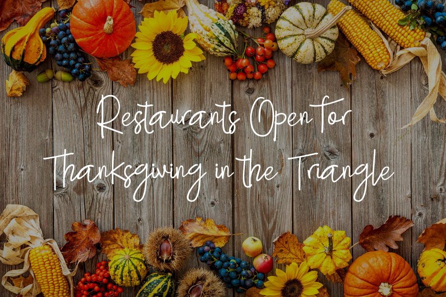 Restaurants Open for Thanksgiving in the Triangle